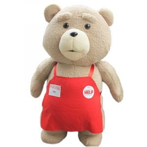 Peluche Ted Ours (Badge Help)