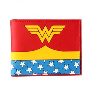 Portefeuille Wonder Woman (rouge / jaune)