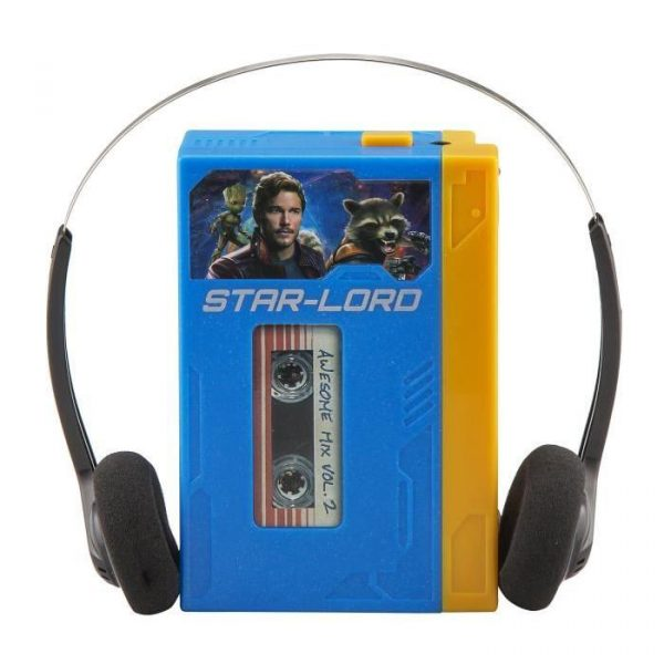 Walkman Gardiens de la Galaxie Baladeur MP3 / MP4 (mini boombox)