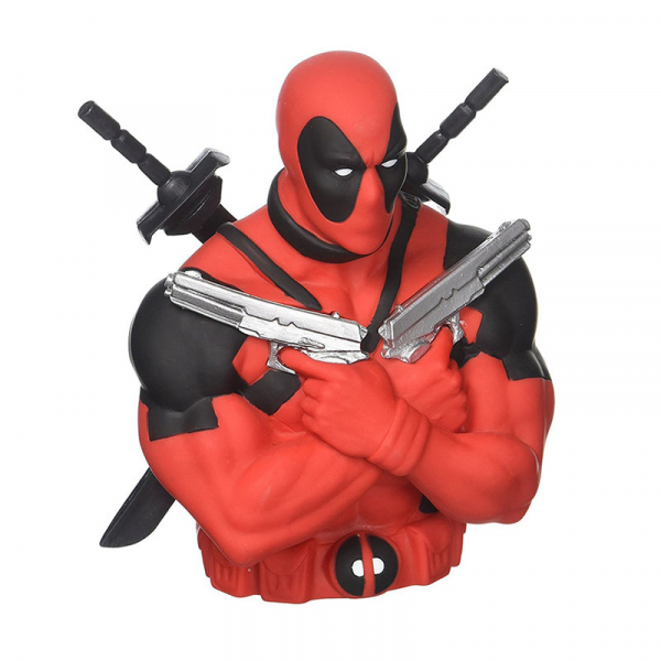 Tirelire Deadpool (double pistolet & sabre)